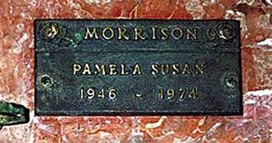 Могила Памелы Курсон