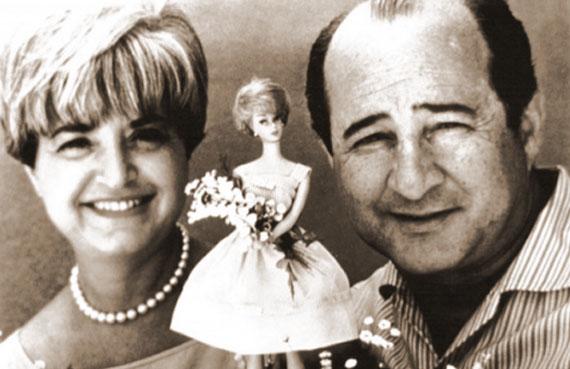 Рут и Эллиотт Хэндлеры со своей Барби.
