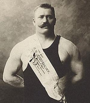 Русский атлет Иван Поддубный