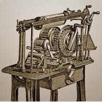 Прообраз пишущей машинки — скоропечатник Алисова