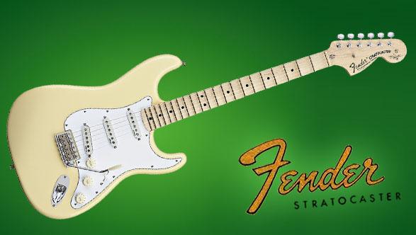 Легендарная электрогитара Fender Stratocaster
